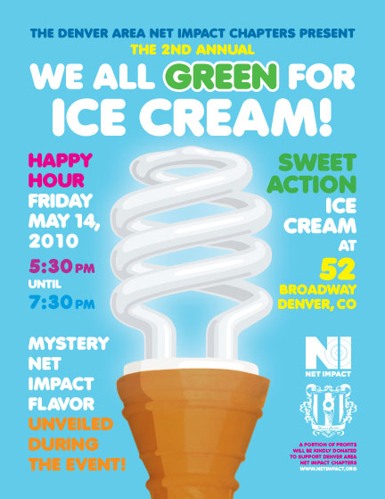 We all green for ice cream!